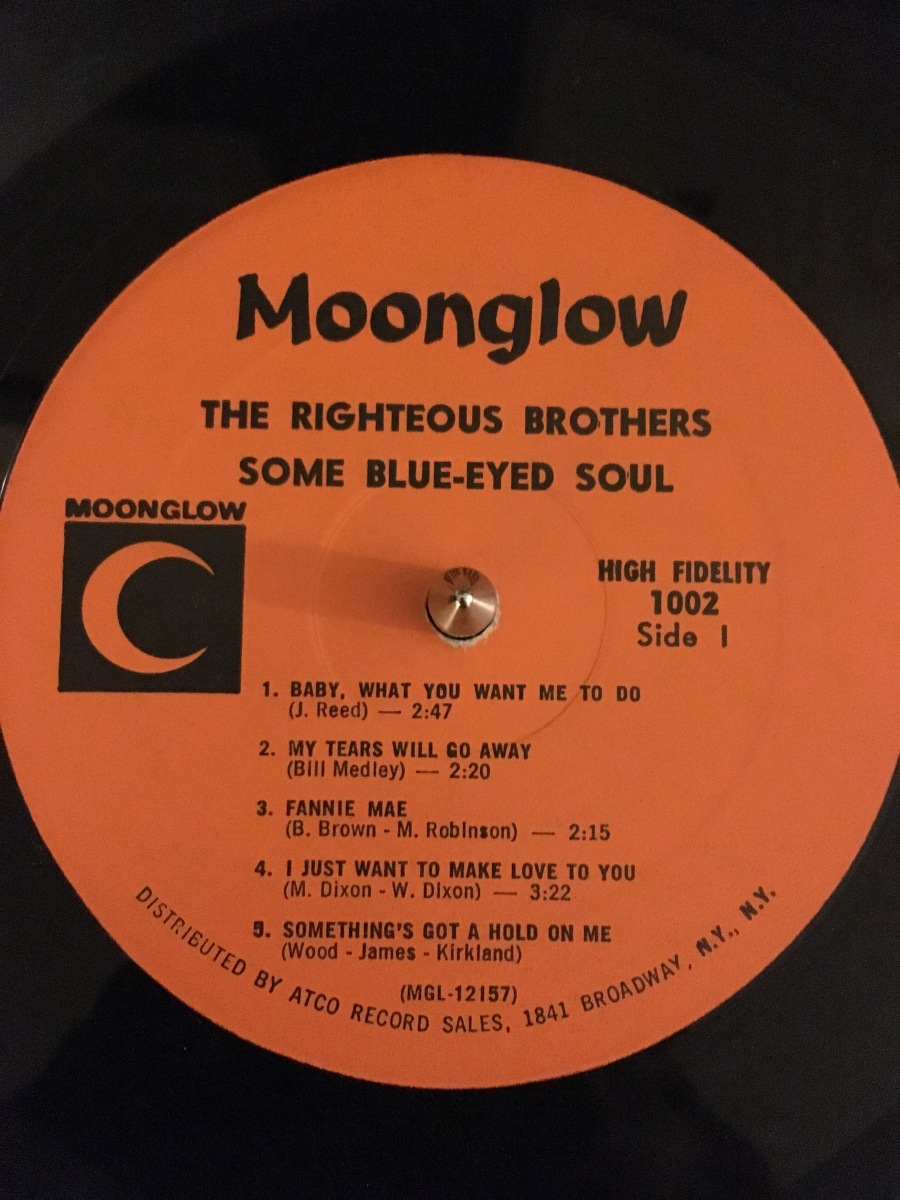 The Righteous Brothers Some Blue Eyed Soul Blood For Vinyl