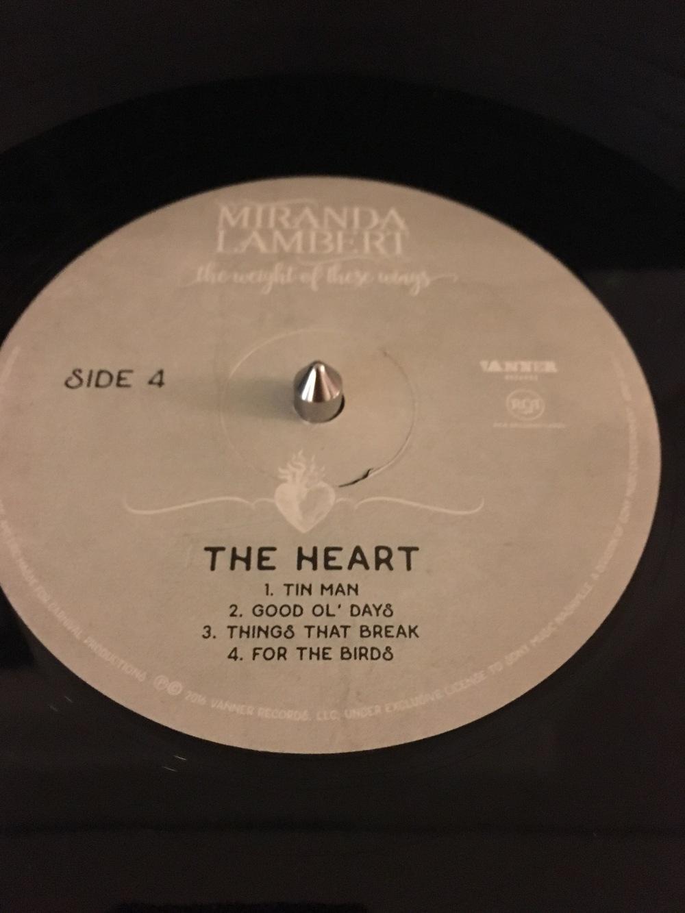 Miranda lambert the weight of these wings blood for vinyl for Miranda lambert the weight of these wings songs
